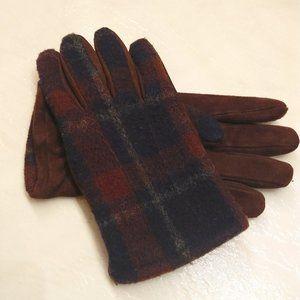 Coach Cashmere & Goat Suede Gloves